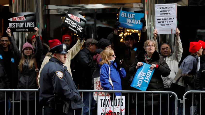 U.S. Senate approves major tax cuts in victory for Trump