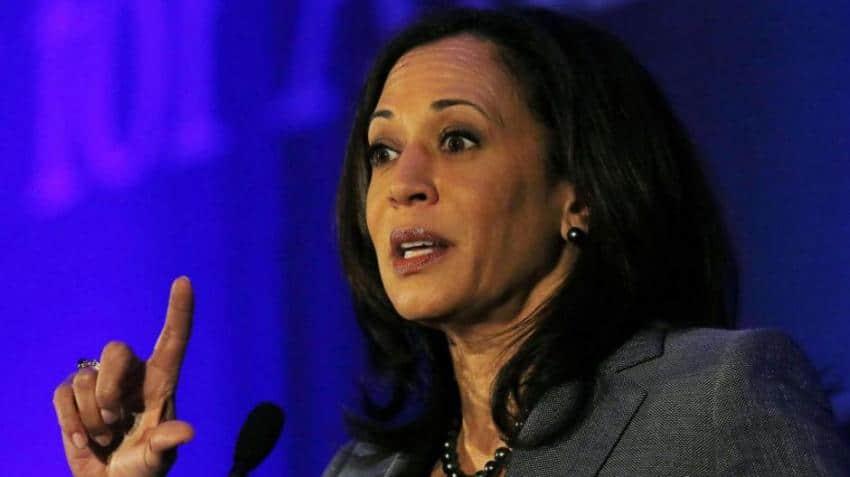 Indian-American senator Kamala Harris tops global thinkers list