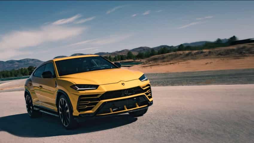 Lamborghini unveils super SUV Urus in Sant'Agata Bolognese