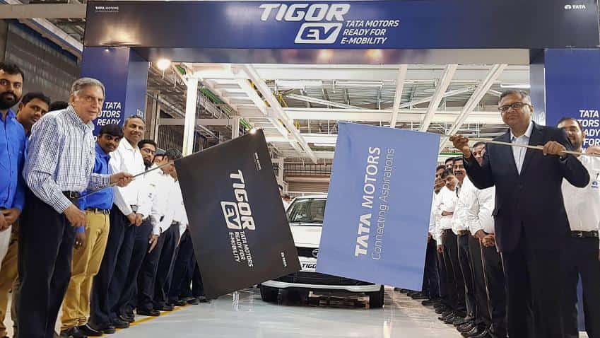 Tata Motors rolls out first Tigor EV