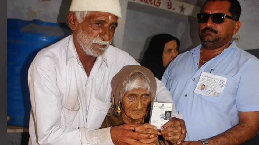 Young and old, brides and grooms cast votes in Gujarat elections; see pics