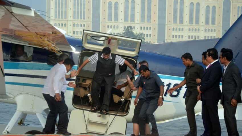Make seaplanes in India, Nitin Gadkari tells Japanese manufacturer