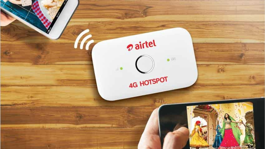 Airtel slashes 4G Hotspot price to Rs 999