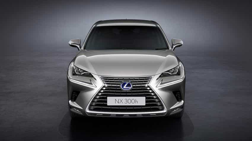 Lexus unveils NX300h Luxury and NX300h F-Sport in India