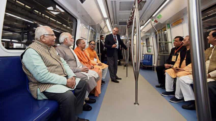 PM Modi launches Delhi Metro's Magenta Line
