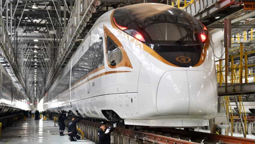 Bullet train: Work on India's first undersea tunnel starts