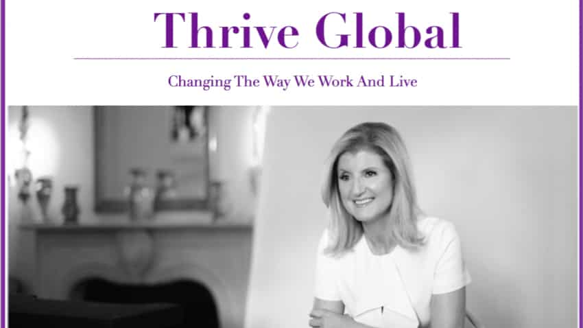 Arianna Huffington's Thrive Global eyes Indian market