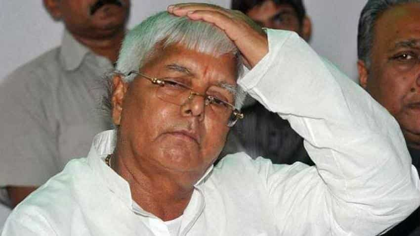 Lalu Prasad sentenced to three and a half years jail
