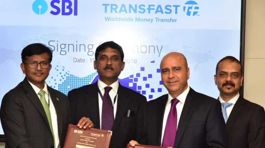 SBI-Transfast Remittance tie up to help NRIs make easy transfer