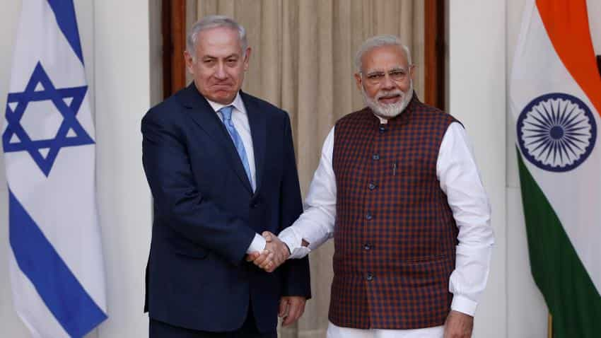 Modi invites Israeli defence companies for co-production