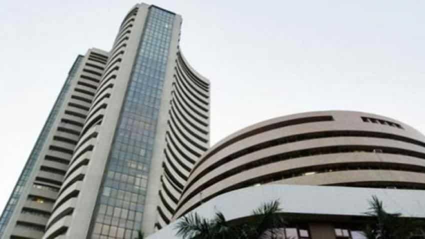 Sensex, Nifty trade in red; PSU banks fall post recap announcement