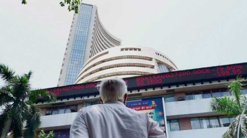 Markets at day's high ahead of Budget 2018; Nifty tests 11,100