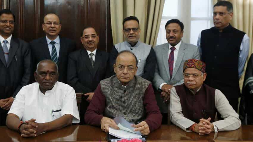 Jaitley makes an effort to please all through his budget