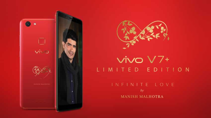 Vivo launches limited edition Infinite Red V7+