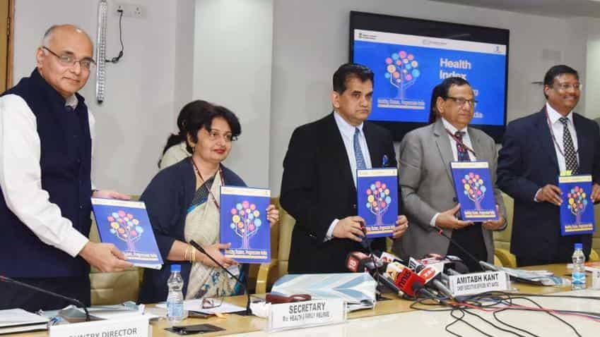 Kerala, Punjab, Tamil Nadu rank on top in NITI Aayog's health report for India