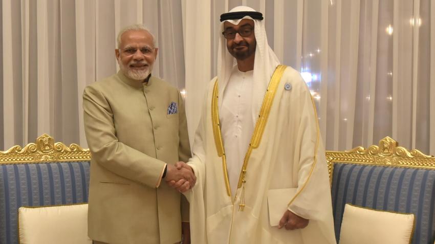 PM Modi meets Crown Prince of Abu Dhabi; India, UAE sign 5 agreements
