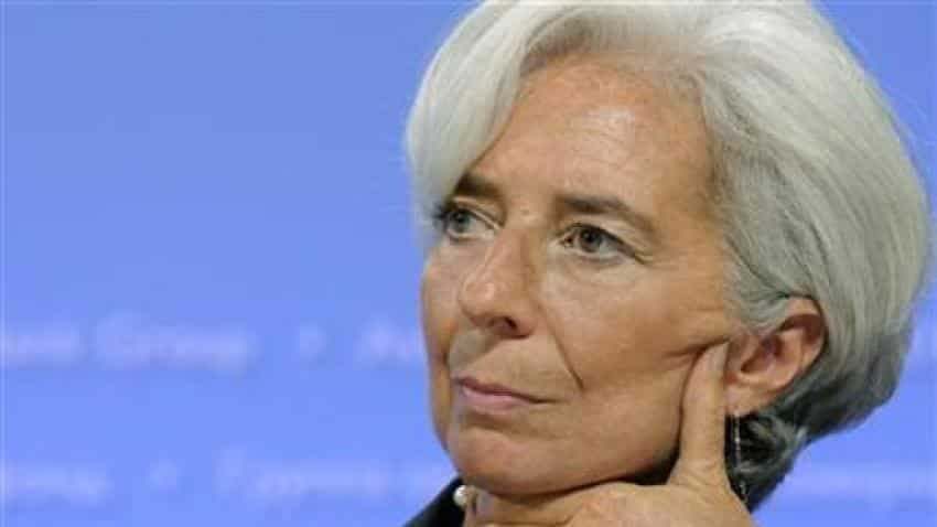IMF chief says market fluctuations aren't worrying