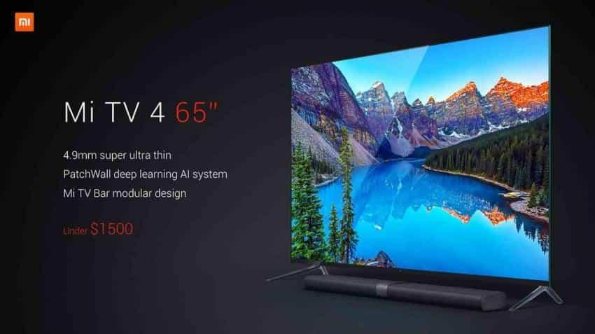 Xiaomi launches Mi TV 4 today in India