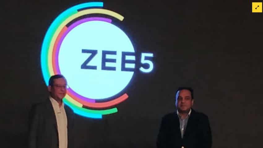 ZEEL launches new digital entertainment platform ZEE5