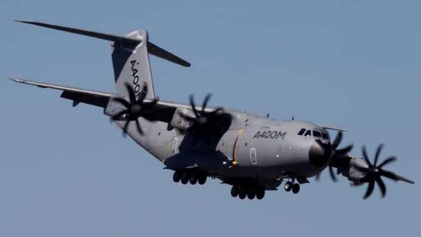 Airbus takes 1.3 billion euros charge on A400M military plane