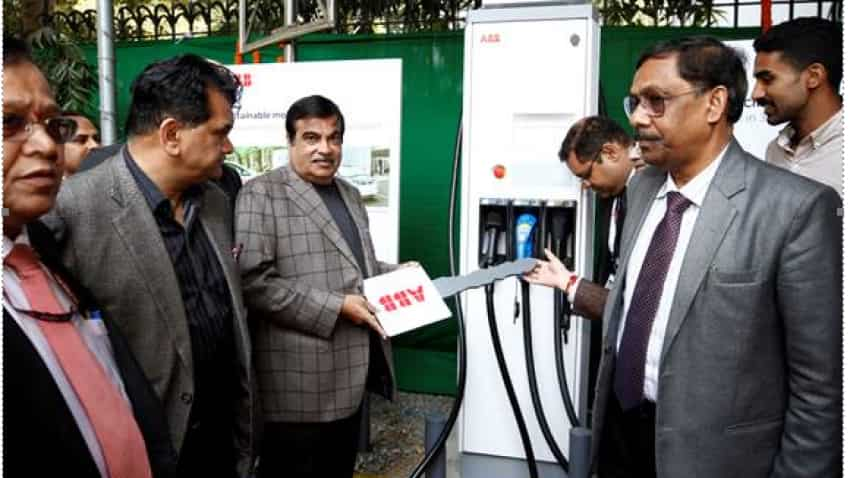 ABB installs electric vehicle fast charger station at NITI Aayog