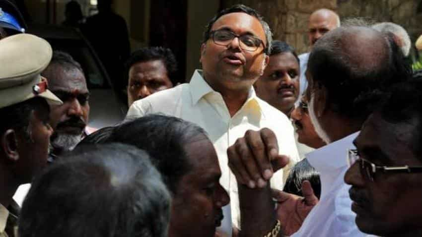 INX Media PMLA case: ED raids people close to Karti Chidambaram