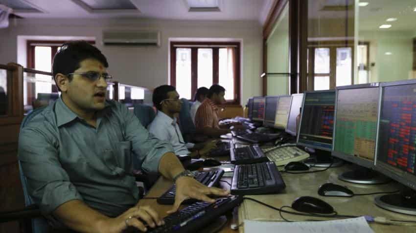 Sensex pares some gains, Nifty slips below 10,400 on tepid global cues