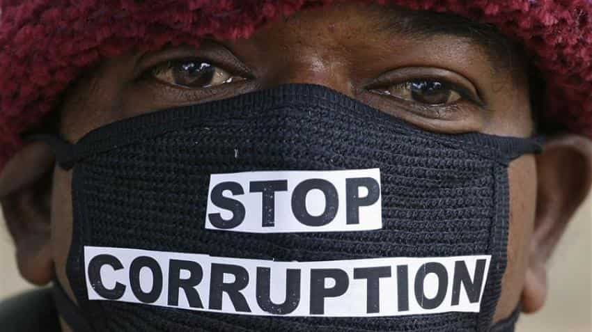 Global corruption perception index ranks Indian at 81st