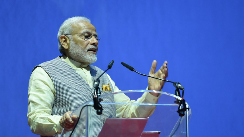 Definite change is now visible, says PM Modi