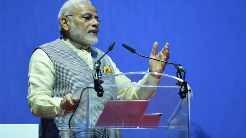 Narendra Modi launches subsidised 'Amma' two-wheeler scheme in Tamil Nadu