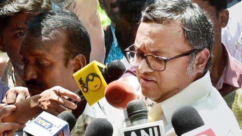 Sun TV shares slip after CBI arrests Karti Chidambaram in INX media case