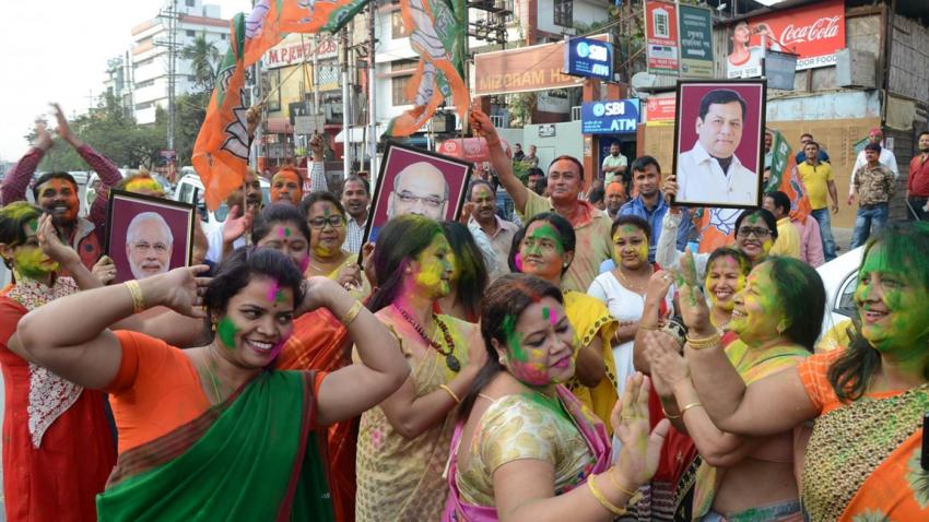Post-polls, BJP in driver's seat in Tripura, Nagaland, Meghalaya