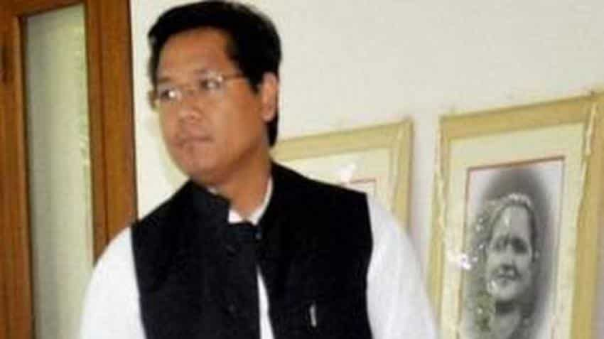 After polls, Conrad Sangma takes oath as Meghalaya CM
