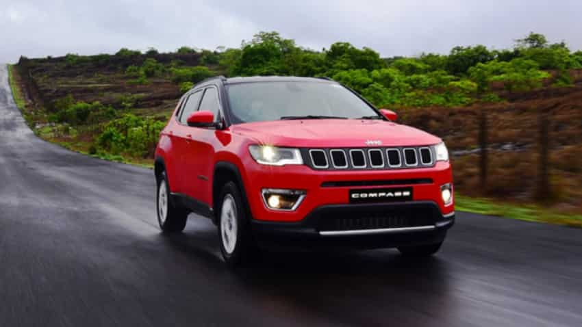 Jeep Compass SUV crosses 25k production mark