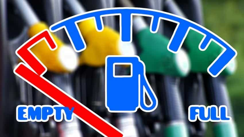Petrol price in India today up by 2 paisa; global crude tumbles