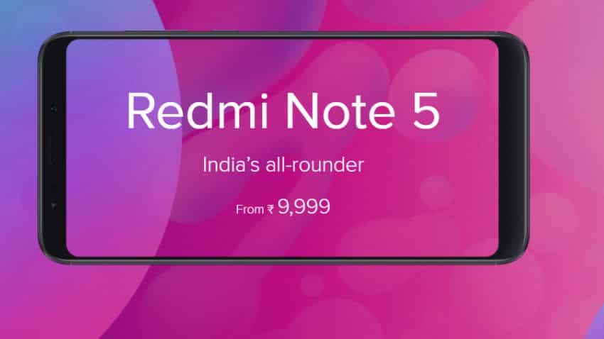 Xiaomi Redmi Note 5 sale starts on Flipkart, Mi.com; check prices, features, more