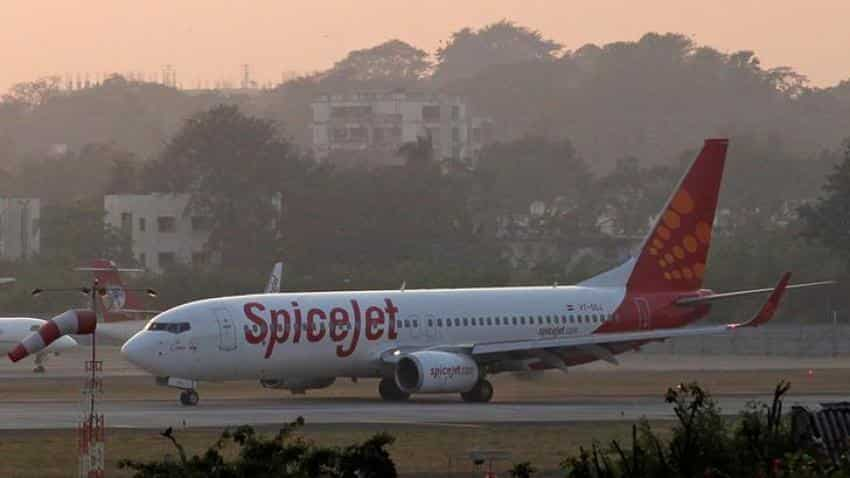 SpiceJet aircraft hits runway lights in Bengaluru airport