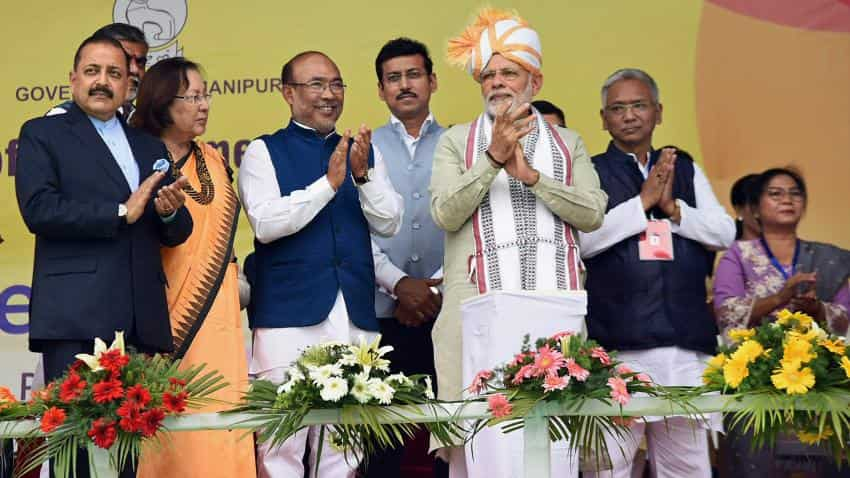 North east can be new engine for India's growth: Narendra Modi