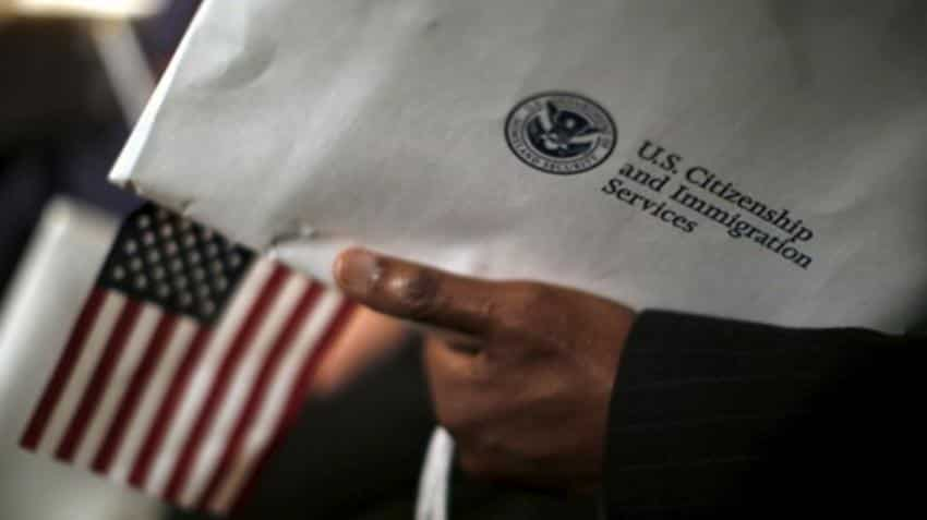 US green card backlog forces Indian-Americans with US H-1B visas to hold street protests