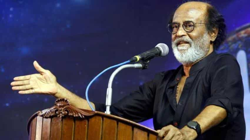 Not BJP, only God and people behind me: Rajinikanth
