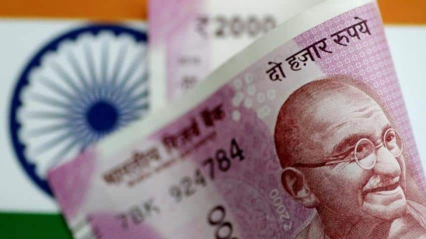 Indian rupee Vs dollar today: Rupee rises despite fiscal deficit surpasses budgeted estimates by 120.3%