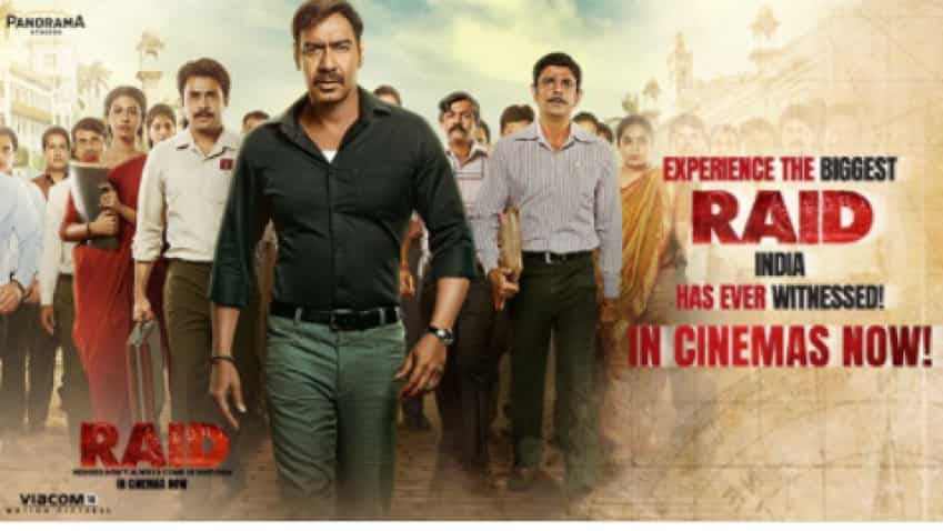 Raid box office collection: Ajay Devgn powers latest movie to Rs 90.11 cr, eyes Rs 100 cr mark