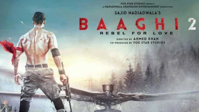 Baaghi 2 box office collection day 2: Tiger Shroff gets huge shock after massive opening day surprise, earns Rs 20.40 cr