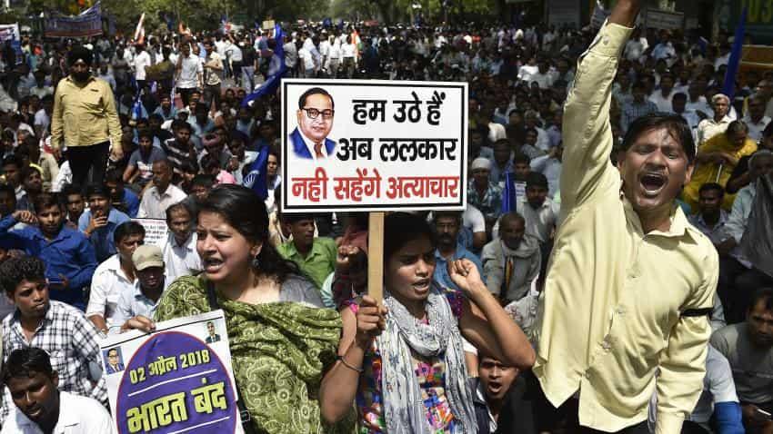 Bharat bandh: Dalit outfits strike turns violent,  Madhya Pradesh,  Rajasthan, Utar Pradesh hit severely