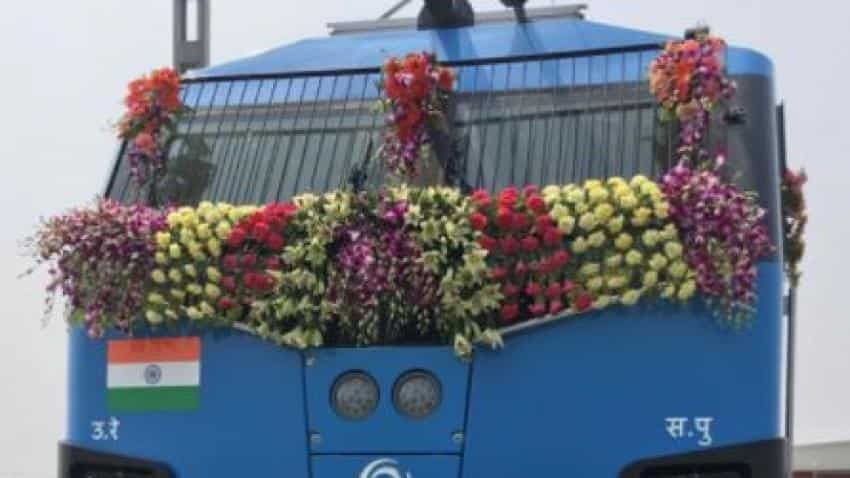 Indian Railways most powerful e-engine ever flagged off by PM Narendra Modi in Bihar
