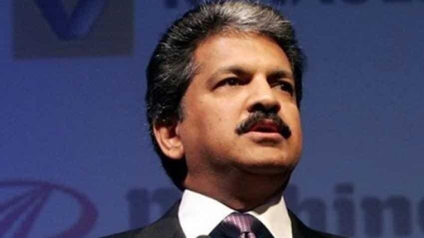 Mahindra and Mahindra share price soars, Anand Mahindra led carmaker enters Rs 1 lakh crore market cap club