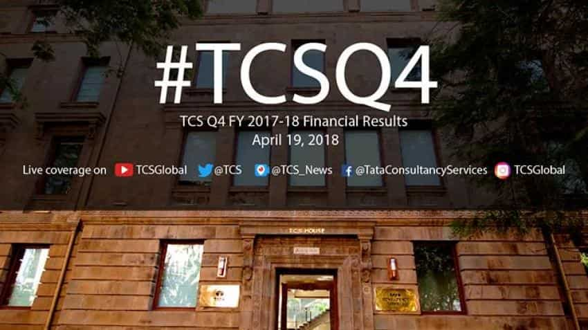 TCS Q4 Result 2018 highlights: Tata Consultancy Services gives Rs 29 per share dividend