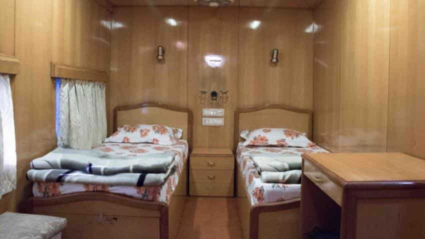 On Indian Railways saloon coach, get set for stunning visuals; check it out!