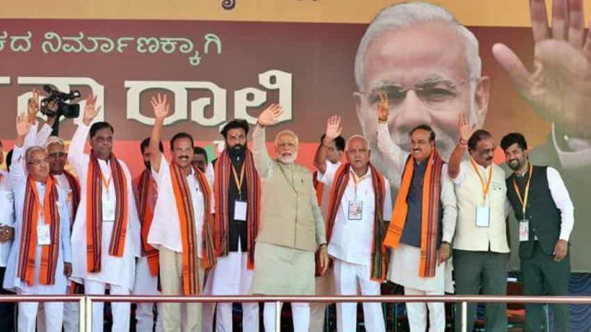 Karnataka assembly elections 2018: BJP to fly in Narendra Modi for campaign