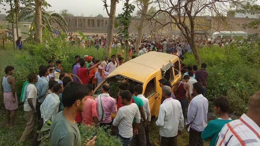 Kushinagar Indian Railways train, bus collision Live: 13 children killed in UP accident; PM Modi condoles death of children
